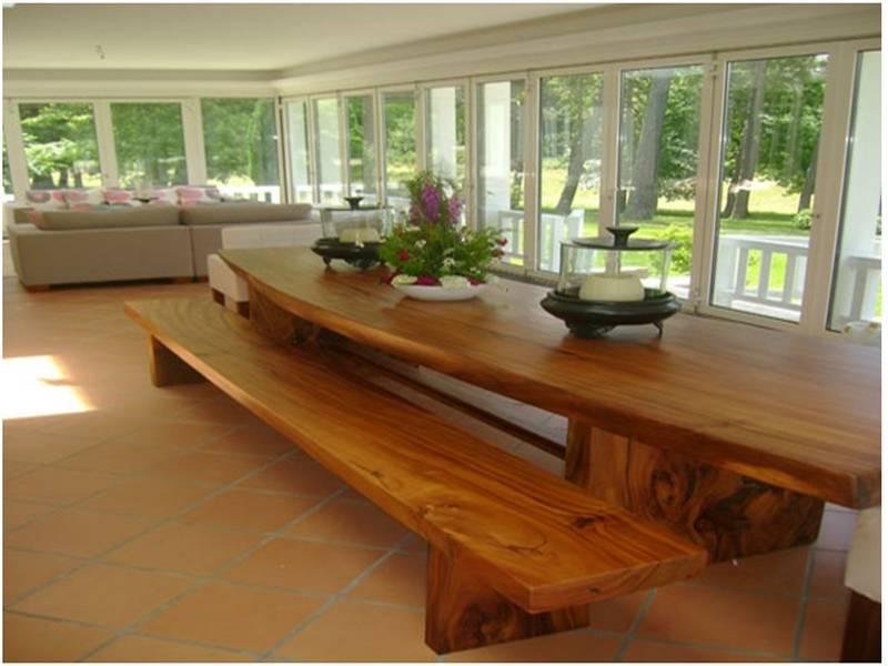 18 Mueble de madera de suart, mueble de madera de tamarindo, tablones
